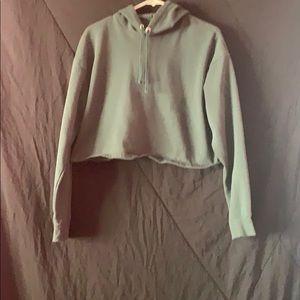 crop-top sweater